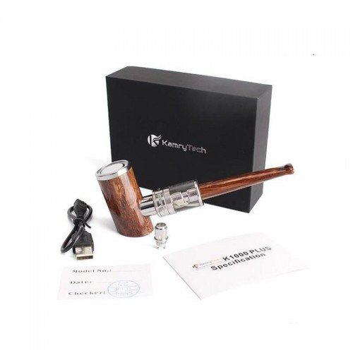 Kamry K1000 Plus 4ml 1100mAh e-Pipe (Wood Finish)